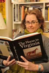 Julie Campbell and book