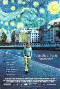 "Movie poster for ""Midnight in Paris"""