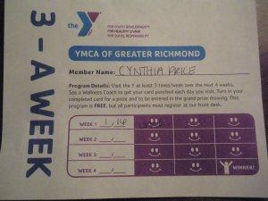 3-A Week Card