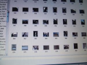 Digital photo thumbnails