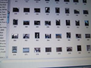 Digital photo thumbnails