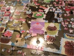 I discovered that jigsaw puzzles are a great way to disconnect. (Photo by Cynthia Price)