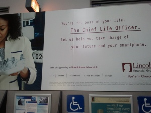 Chief Life Officer sign