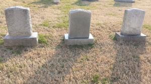 3 tombstones