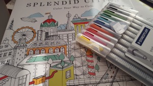 Adult coloring books are a great way to slow down (photo by Cynthia Price).